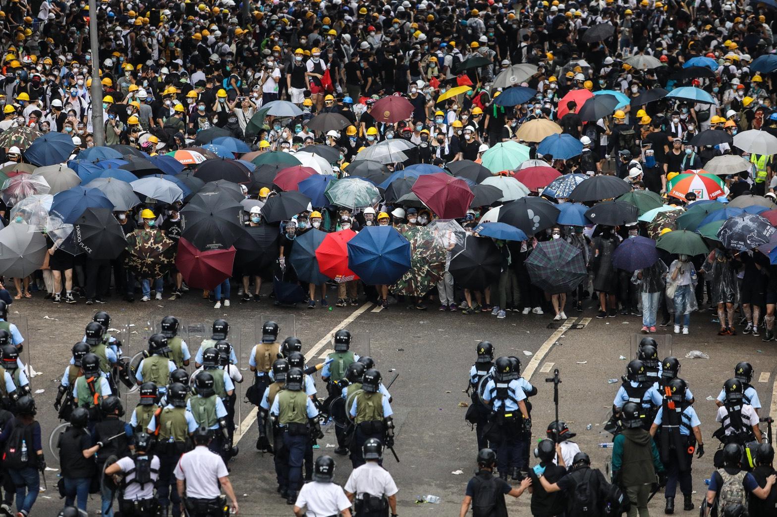 7.1大遊行迫近 港警發言人恐嚇言論遭譴責