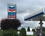 大温油价,在本周开始明显下跌,周三晚间更跌至147.9分/升左右。(童宇/大纪元)