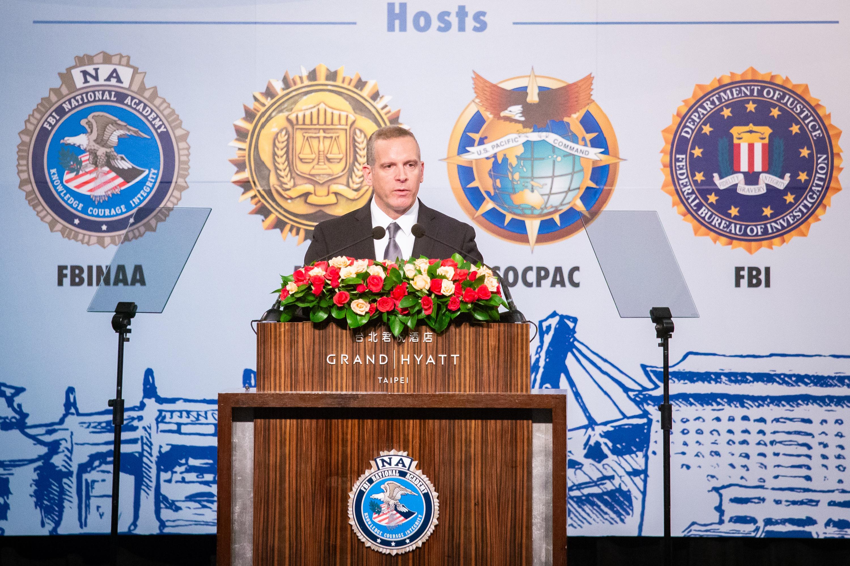 美FBI高層首訪台灣 20國強化反恐合作