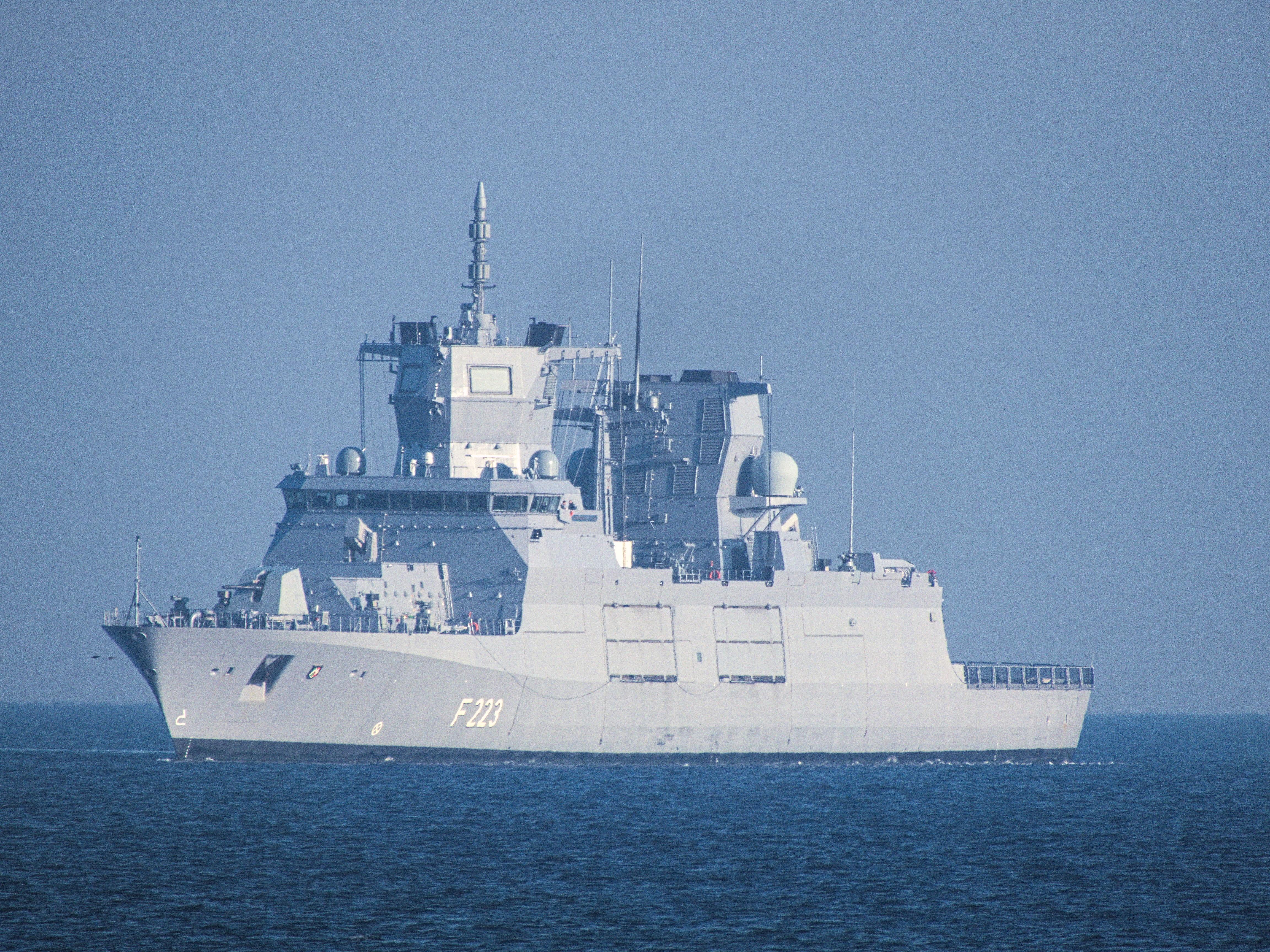 加入美法行列 德國擬派軍艦穿越台海