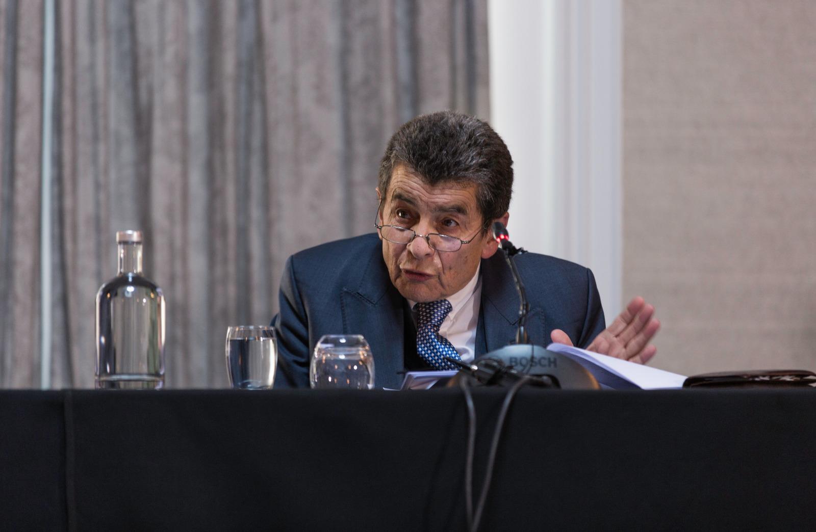 英國御用大律師傑弗里·尼斯爵士(Sir Geoffrey Nice QC)擔任主席的「人民法庭」判定,中共仍在活摘法輪功學員器官。(冠奇/大紀元)
