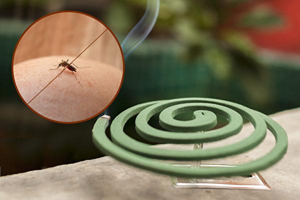 防蚊液、蚊香、电蚊香、捕蚊灯、电蚊拍,这些防蚊产品怎么用最有效?(Shutterstock/大纪元制图)