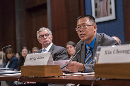 哈佛大學訪問學者、法學專家,原中國人權律師滕彪。(石青雲/大紀元)
