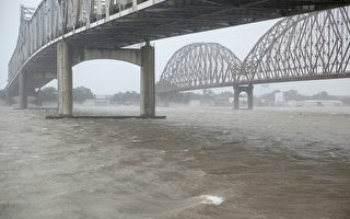 飓风巴里登陆路易斯安那 逾十万人断电