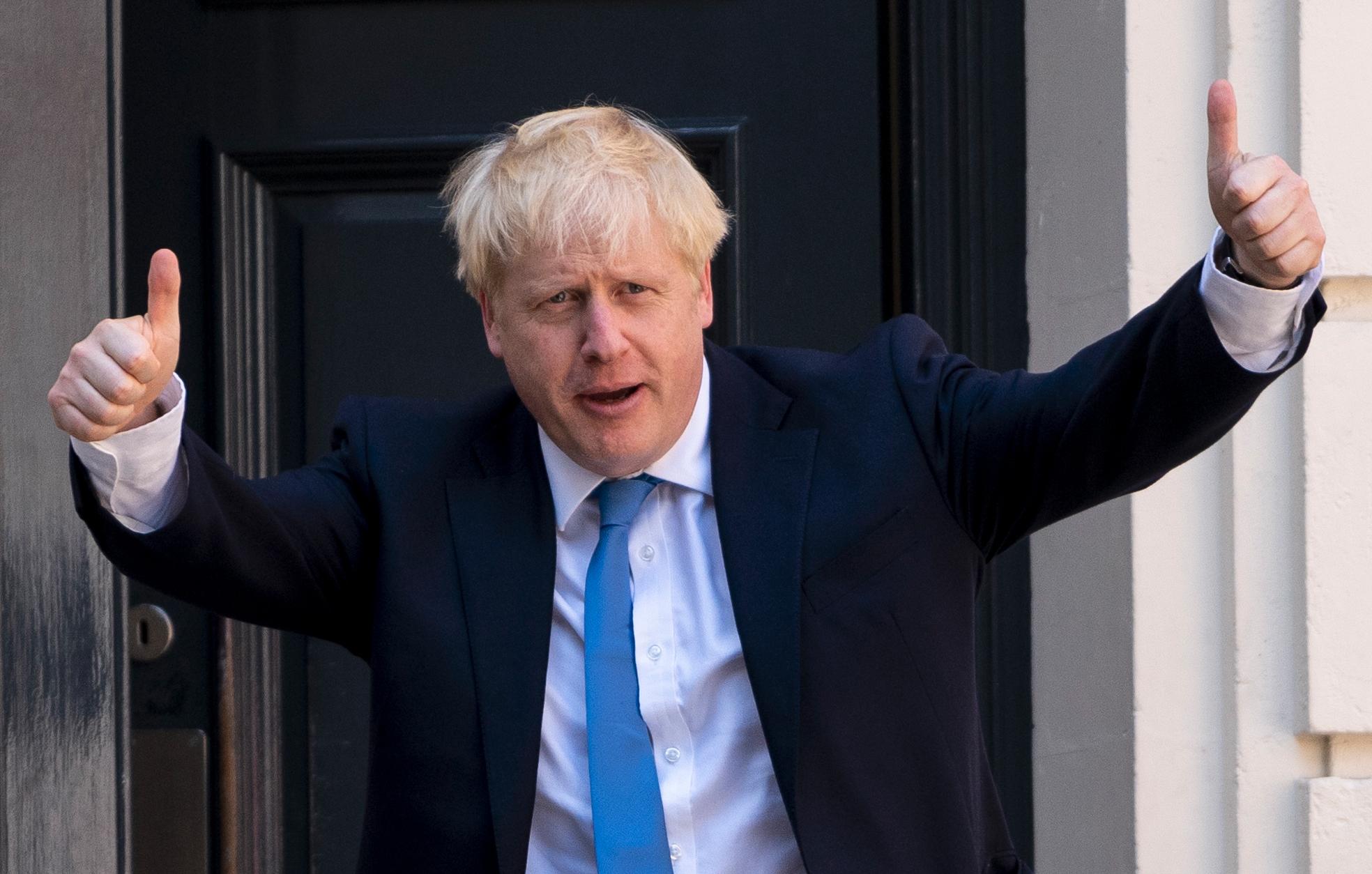 英國新首相 對香港和華為問題持強硬立場