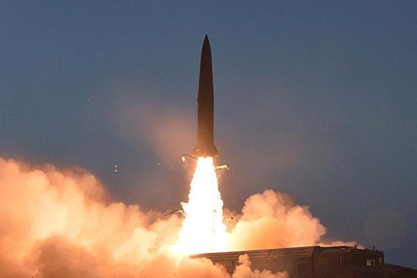 美官員:朝鮮週日發射兩枚短程導彈