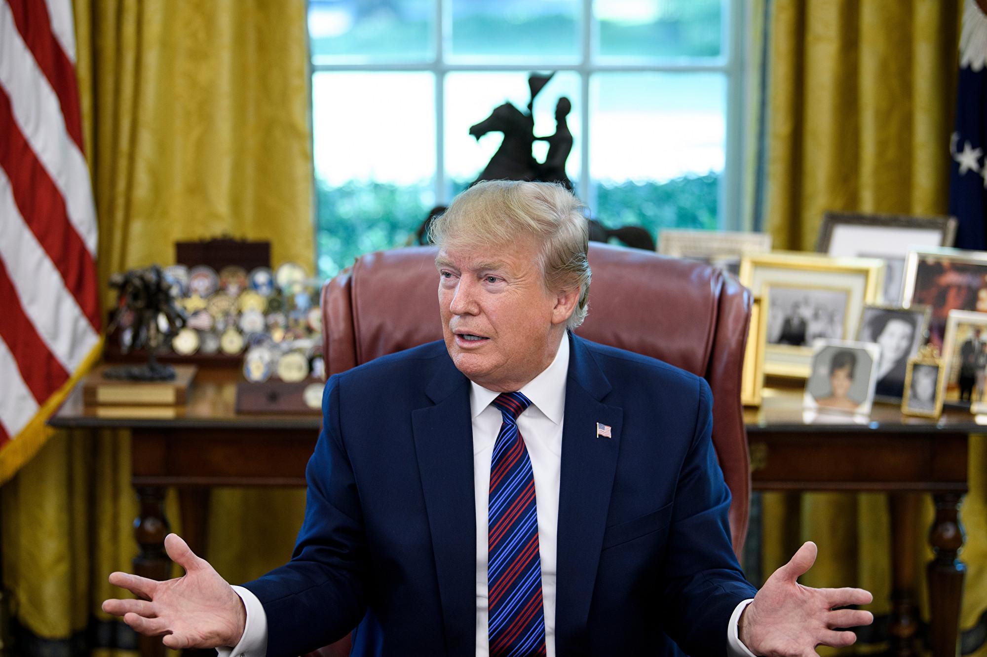 特朗普:中共企圖拖延貿易戰 直到2020大選
