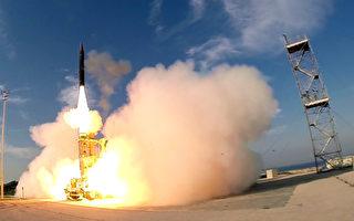 """以色列""""箭-3""""反导系统在美通过现场试验"""