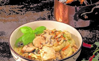 【私房西餐菜單】 義大利雞肉麵疙瘩