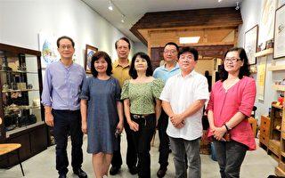中部七畫家首赴美  「台灣色彩」DC展風采