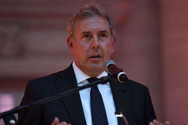 7月10日英國外交部證實,金‧達羅克爵士(Sir Kim Darroch)已經辭去了英國駐美大使的職務。(Riccardo Savi/Getty Images for Capitol File Magazine)