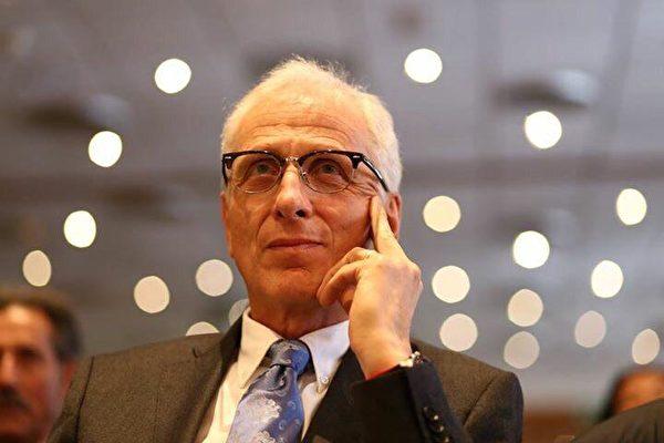 毛里齊奧‧羅姆尼(Maurizio Romani)先生是意大利參議院衛生事務組副主席,意大利價值黨成員,也是一名醫生。他呼籲早日停止對法輪功學員的迫害。(Maurizio Romani先生本人提供)