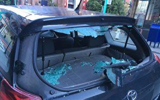 砸車窗盜竊案 肆虐硅谷聖塔克拉拉