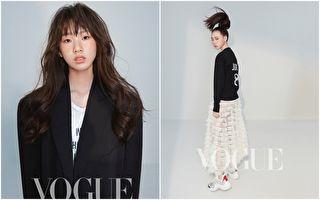 小S女儿登时尚杂志 高冷气质有超模架势