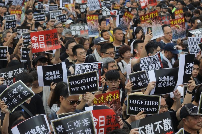 【老外看中國】香港反送中 美英民眾怎麼看?