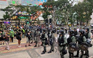 民主派议员:港警应反思 为何市民怕到要跳桥