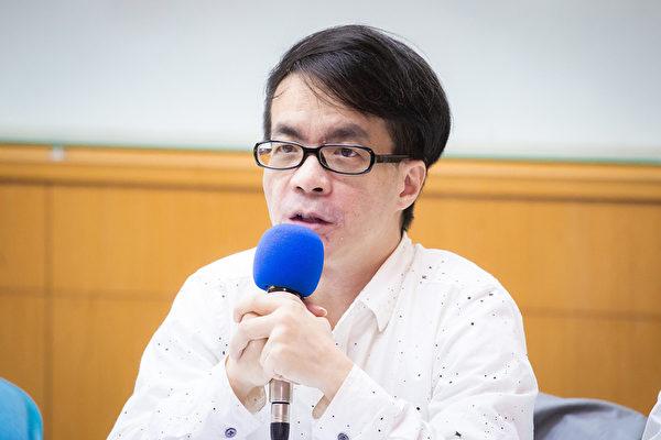 成功大學政治系教授梁文韜。(陳柏州/大紀元)