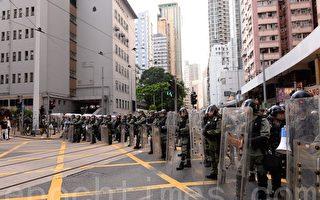 【視頻】7.28示威再爆衝突 警方放催淚彈