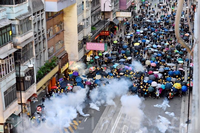 美國發佈赴香港旅行警告