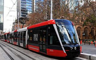悉尼輕軌列車即將測試 市中心行人注意安全