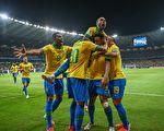 东道主巴西2:0淘汰阿根廷 进美洲杯决赛