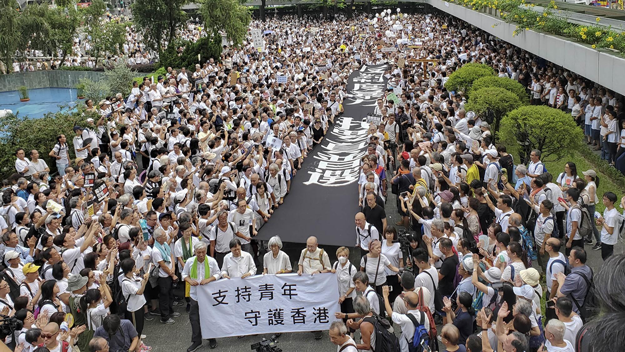 香港處十字路口 港府近乎癱瘓 中南海博弈