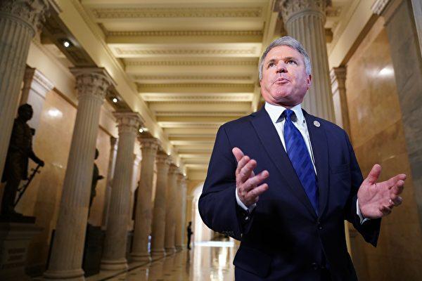 圖為美國眾議院外委會共和黨首席議員的麥考爾(Michael McCaul)。 (MANDEL NGAN/AFP/Getty Images)