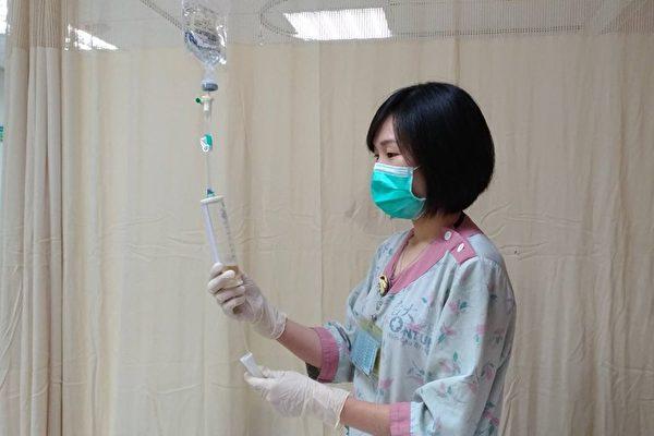 醫師表示,營養針沒有那麼神奇,無法進食才需注射營養溶液。(台大醫院新竹分院提供)