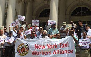 出租車司機工會要求市政豁免牌照主欠款