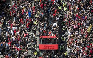 TTC:猛龙大游行当天 载客量约为215万