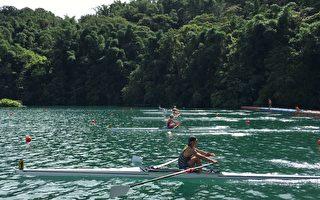 全國划船錦標賽 4百位選手日月潭競速
