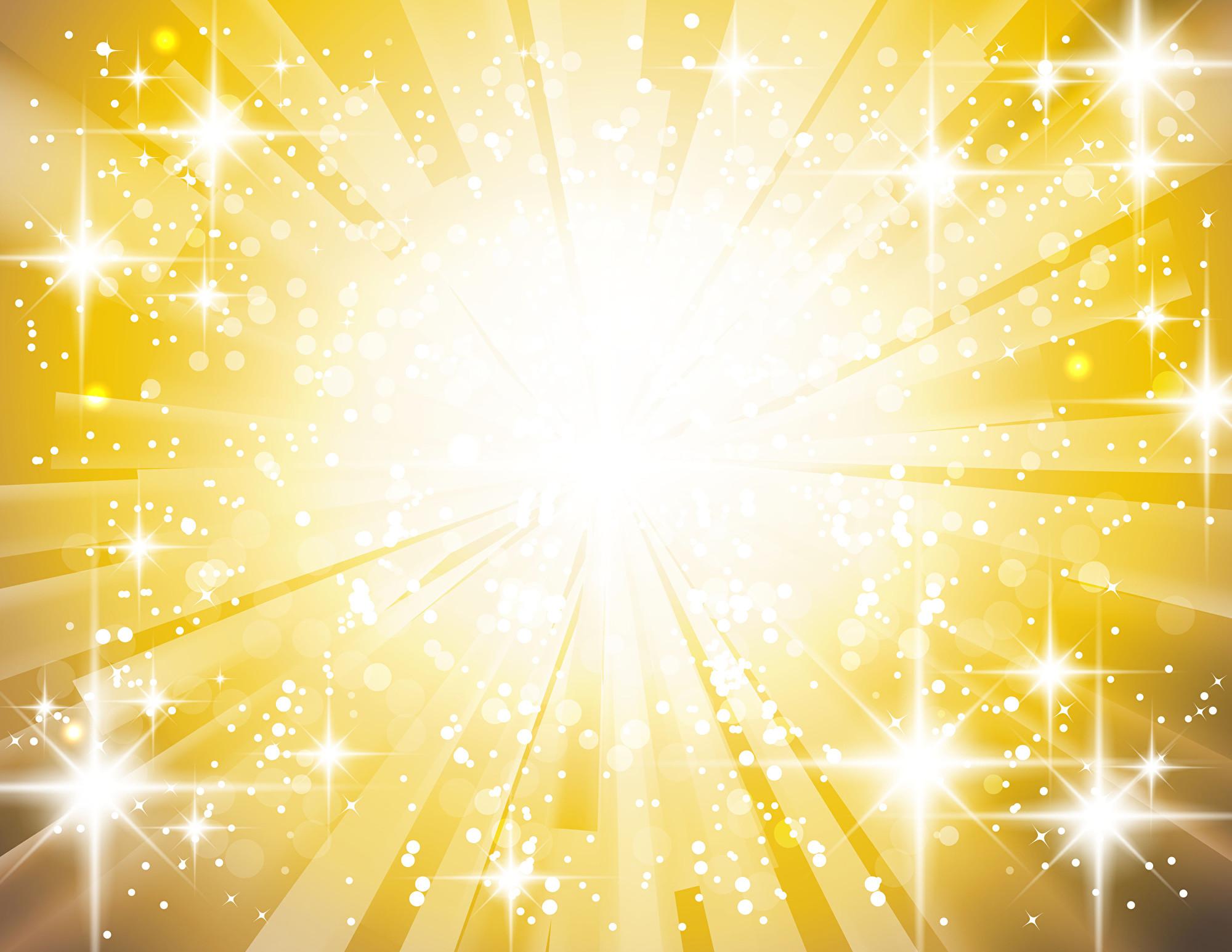 菲律賓蘇祿省在6月30日晚上出現神祕光柱。圖為金光閃耀的示意圖,與本文無關。(Fotolia)