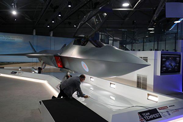 瑞典擬加入英國 共同研發第六代戰機