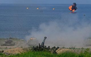 台东沙岛火炮实射演训 最大弹高1万2千呎
