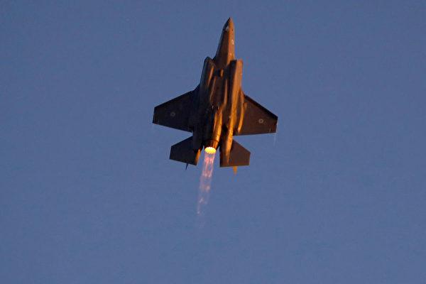 F-35是美軍目前最貴的戰機之一,是美國空軍力量的重要象徵,國慶當天將有兩架F-35戰機飛越華府。(Jack Guez/AFP/Getty Images)