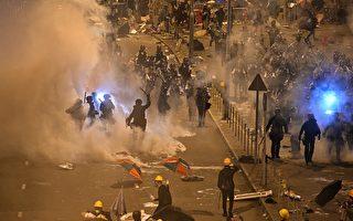 """香港亲共者办""""撑警集会"""" 专家:中共的伎俩"""
