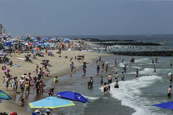 夏季游泳需谨慎 德州多处海滩细菌超标