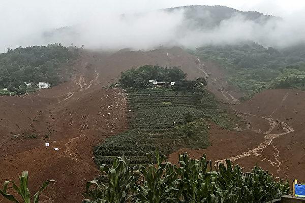 貴州7‧23特大山泥傾瀉 死亡人數增至42人