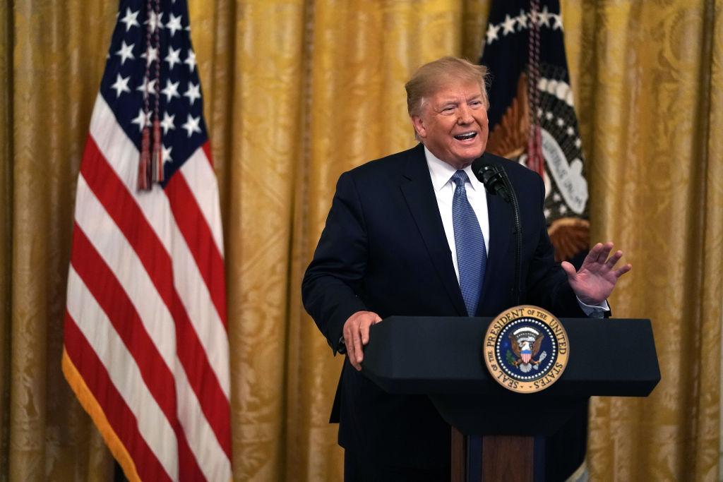 特朗普:將大幅增加對伊朗的制裁
