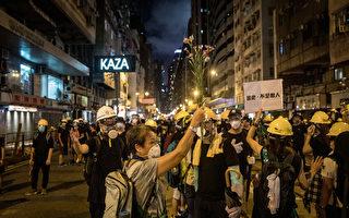传北京暂不倾向于武力解决香港问题