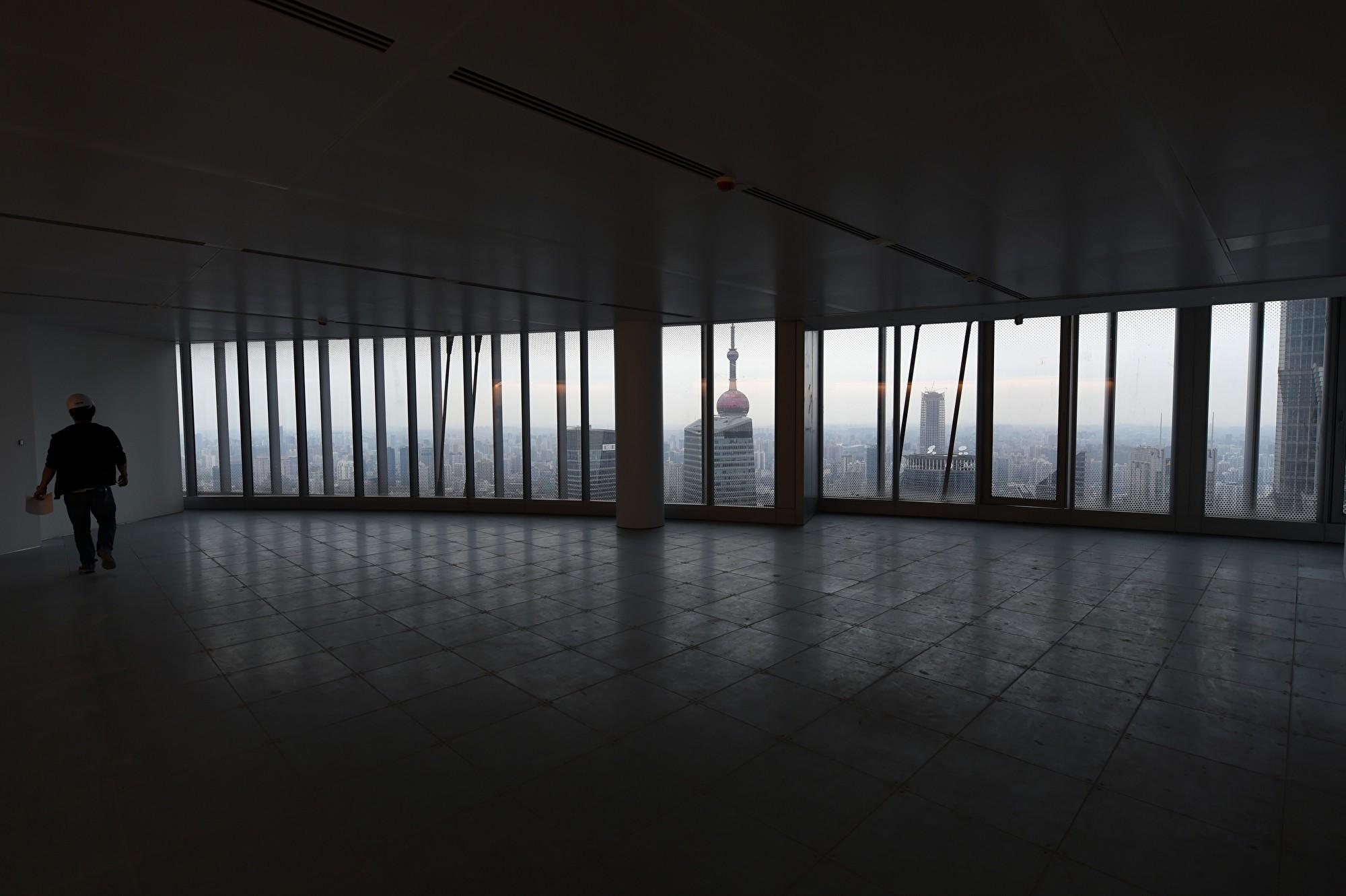 中國主要城市寫字樓空置率驚人 近乎鬼城