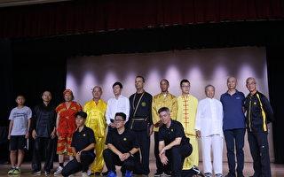 全世界华人武术大赛洛杉矶表演赛 高手过招