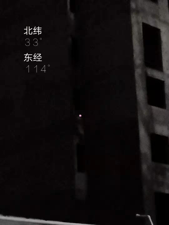 圖中亮點為王恩忠家附近的監控,事發後被政府人員取走。(受訪者提供)