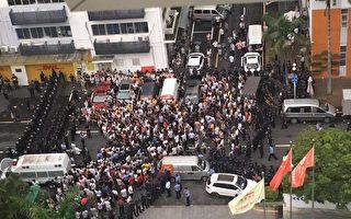 广东数千司机围堵货拉拉总部维权遭镇压