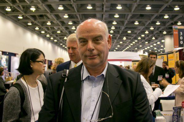 以色列著名心臟移植外科醫生Jacob Lavee。(Alex Ma/Epoch Times)