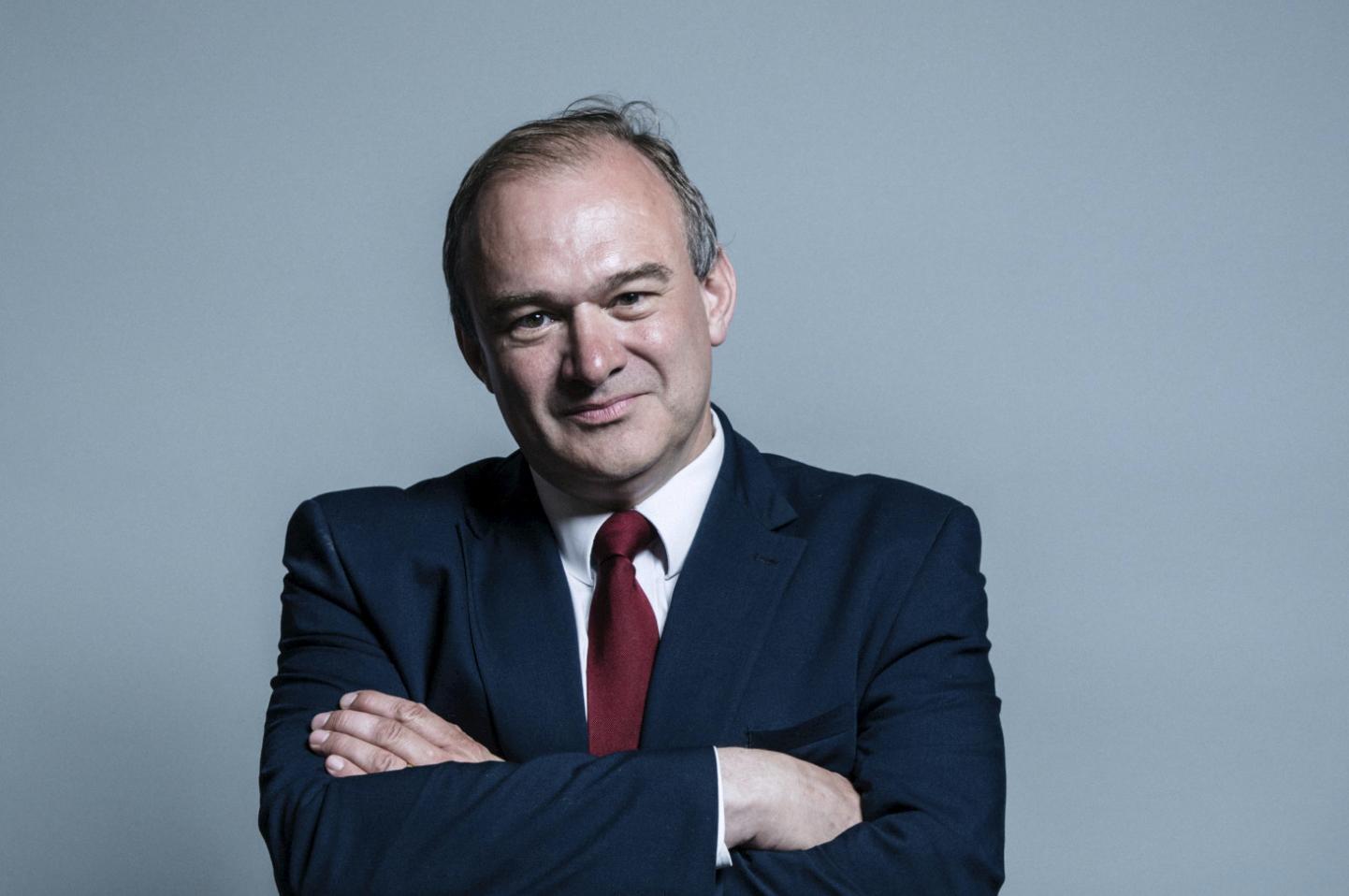 英格蘭選區議員愛德華‧戴維(Edward Davey)來信支持法輪功學員的和平抗議。(圖片來源:英國國會網頁)