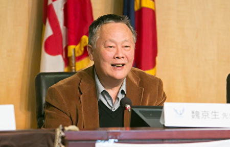 中國民主運動海外聯席會議主席魏京生資料照。(李莎/大紀元)