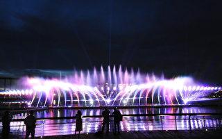 故宫南院儿创泰国风 园区水舞炫光消暑