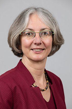 德國黑森州州議會副議長穆勒(Karin Muller)。(Martin Kraft/wikipedia)