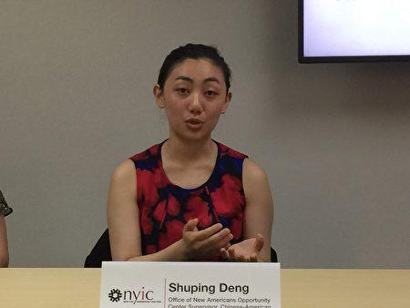 華測會機會辦公室主任鄧淑萍表示中國社區對公共負擔新政策擔憂普遍。